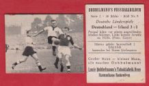 West Germany v Ireland 1952 Posipal Streitle